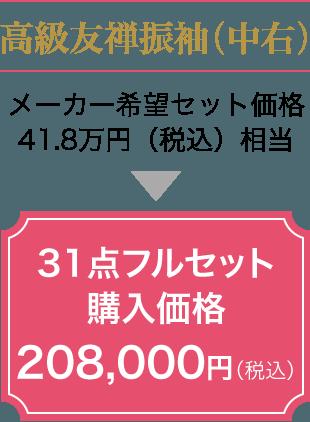 31点フルセット購入価格18.8万円(税別)